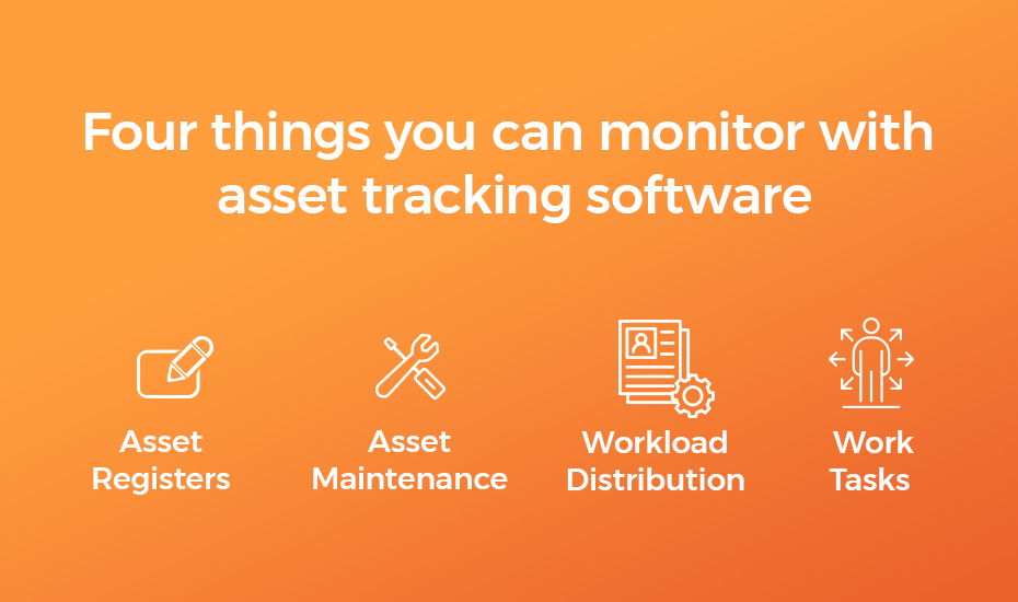 Four things you can monitor with asset tracking software